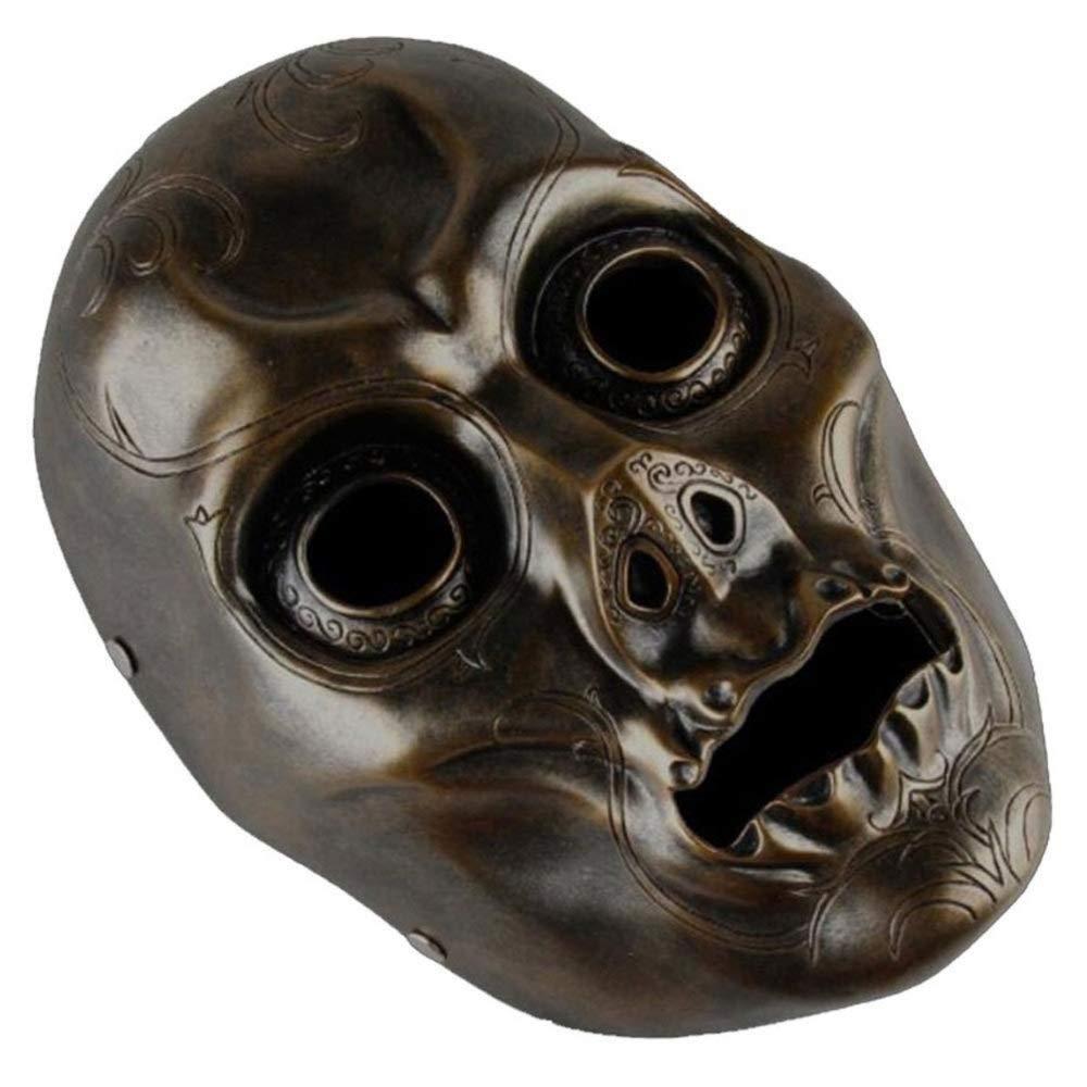 Zicue Humorvolle Maske Maskerade Prom Maske Horror Requisiten Harry Potter Todessermaske Maske Harzmaske ( Farbe   A ) B