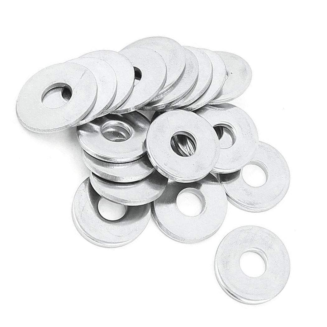 M8 Spacer Washers Stainless Steel Flat Fender Hardware 50 Pack