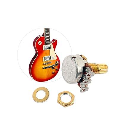 LIUXIA, 5 Piezas de potenciómetro B500k para Guitarra eléctrica ...
