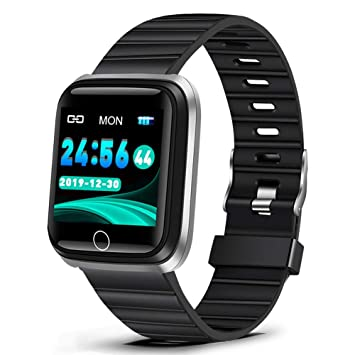 ASSDNI Reloj Inteligente Smart Watch Men Heart Rate Monitor ...
