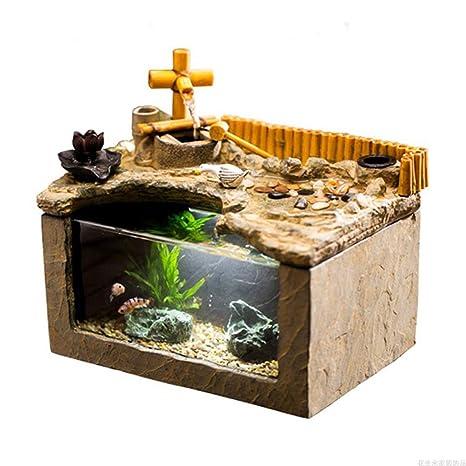 Amazon Com Lf Stores Fish Tank Personality Creativity Fish