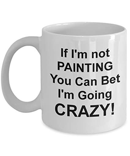Best Novelty Coffee Mugs For Painters Unique Painting Artist Gift Cups Funny Cool Art