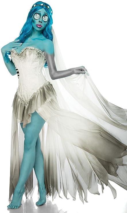 Disfraz completo de la novia cadáver, hombre unisex mujer, Corpse ...