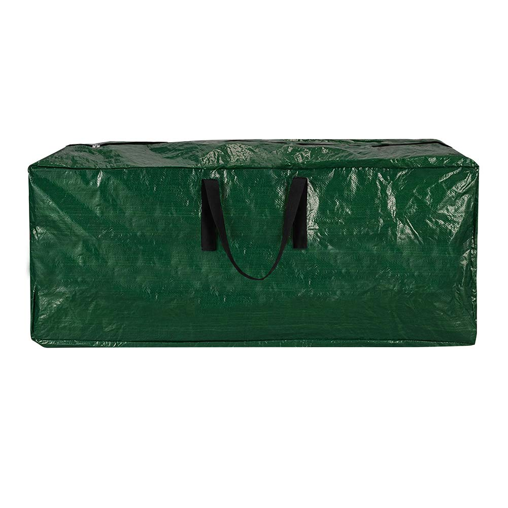 Skypatio 65Inch Extra Large Christmas Tree Bag Fits up to 9ft Tall Artificial Disaseembled Trees,Xmas Storage Bag Container with Durable Handles /& Dual Zipper,Waterproof,Green