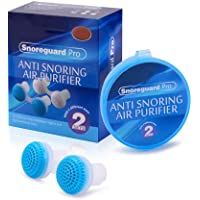 Breakthrough Technology Relax ABS, Silicone Nose Buds, Breathing Easier Soft Tissue Sleep Apnea, Purify Air Bedroom for…