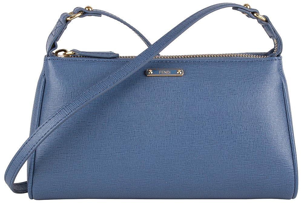 f34eaaf376e3 Fendi Mini Pouch Shoulder Bag - Sky Blue  Handbags  Amazon.com