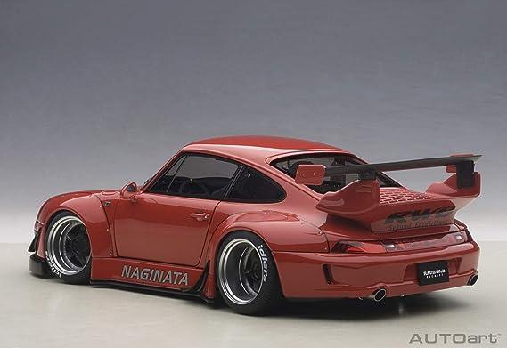 AUTOart - 78153 - Porsche 911/993 RWB - Escala 1/18 - Rojo: Amazon.es: Juguetes y juegos