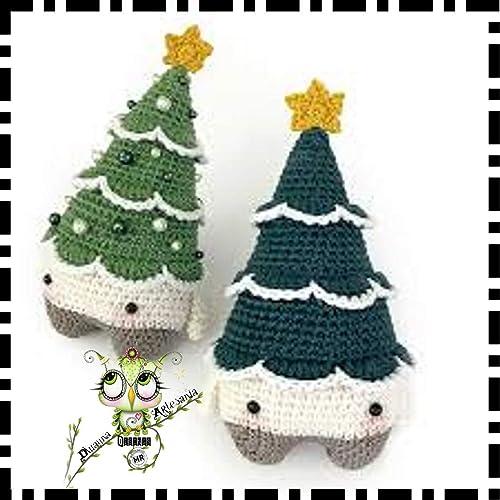 Guirnaldas Arbol Navidad Colgantes Amigurumi Navidad Belen - Navidad-ganchillo