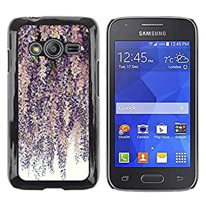 Exotic-Star ( Tree Branches Pink Purple ) Fundas Cover Cubre Hard Case Cover para Samsung Galaxy Ace4 / Galaxy Ace 4 LTE / SM-G313F