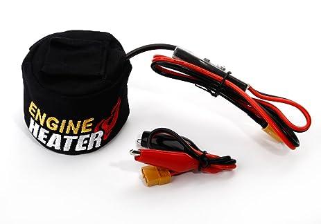 amazon com agm agm reg skyrc nitro engine heater with timer low rh amazon com Audiovox Wiring a Starter Install Camry Starter Relay Wiring