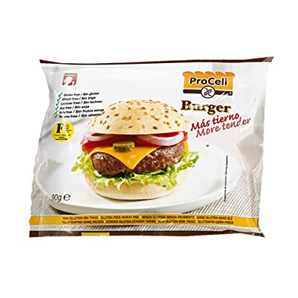 Proceli Ki Pan para hamburguesa Gluten 70gr