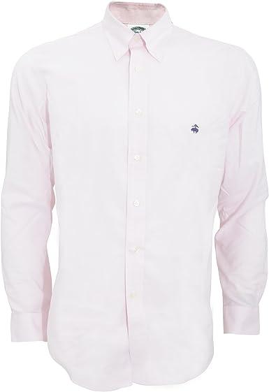 Brooks Brothers - Camisa lisa ajusta entallado caballero ...