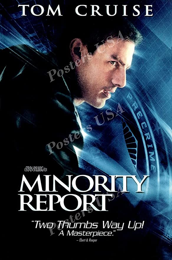Image result for minority report movie poster