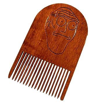 Get Schwifty Beard Comb Wooden Show Me What You Got - Beard Gains