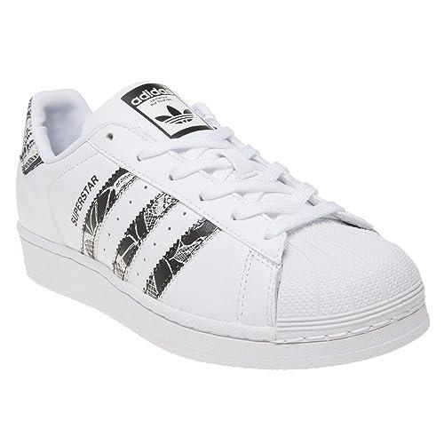 códigos de cupón gran selección de bien barato Adidas Superstar Mujer Zapatillas Blanco: Amazon.es: Zapatos ...