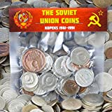 LOT OF 30 PIECES USSR SOVIET RUSSIAN KOPEKS COINS 1961-1991 COLD WAR HAMMER AND SICKLE MONEY