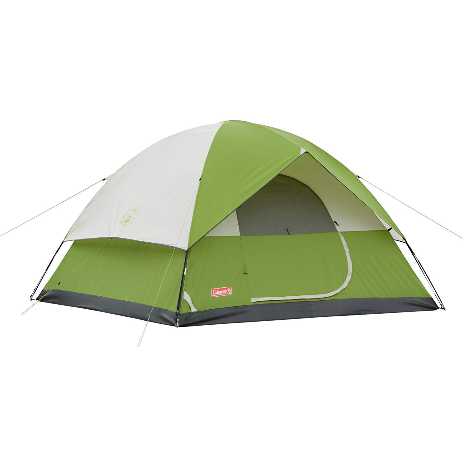 Coleman Picnic Camping Sun Dome Portable Camping Green Tents For 6