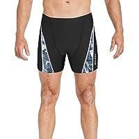 BALEAF Mens' Athletic Swim Jammers Quick Dry Compression Square Leg Swim Brief Swimsuit