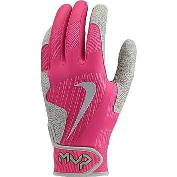 2af3c97d0ac40 Nike MVP Pro Baseball Softball Batting Gloves Pink Small  Amazon.co ...