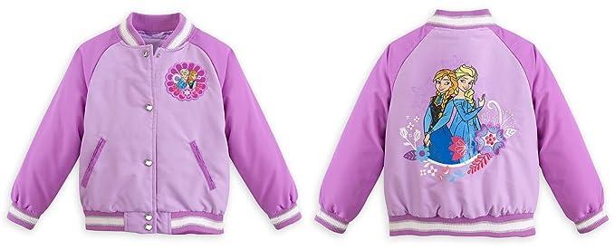 Tienda Frozen Queen Elsa / Princess Anna Varsity Tama?o de la chaqueta x-