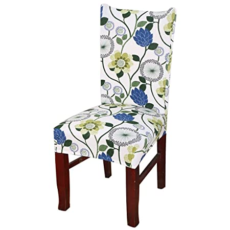 Short Dining Chair Covers Slipcover Spandex Lycra Banquet Hotel Home Décor Style