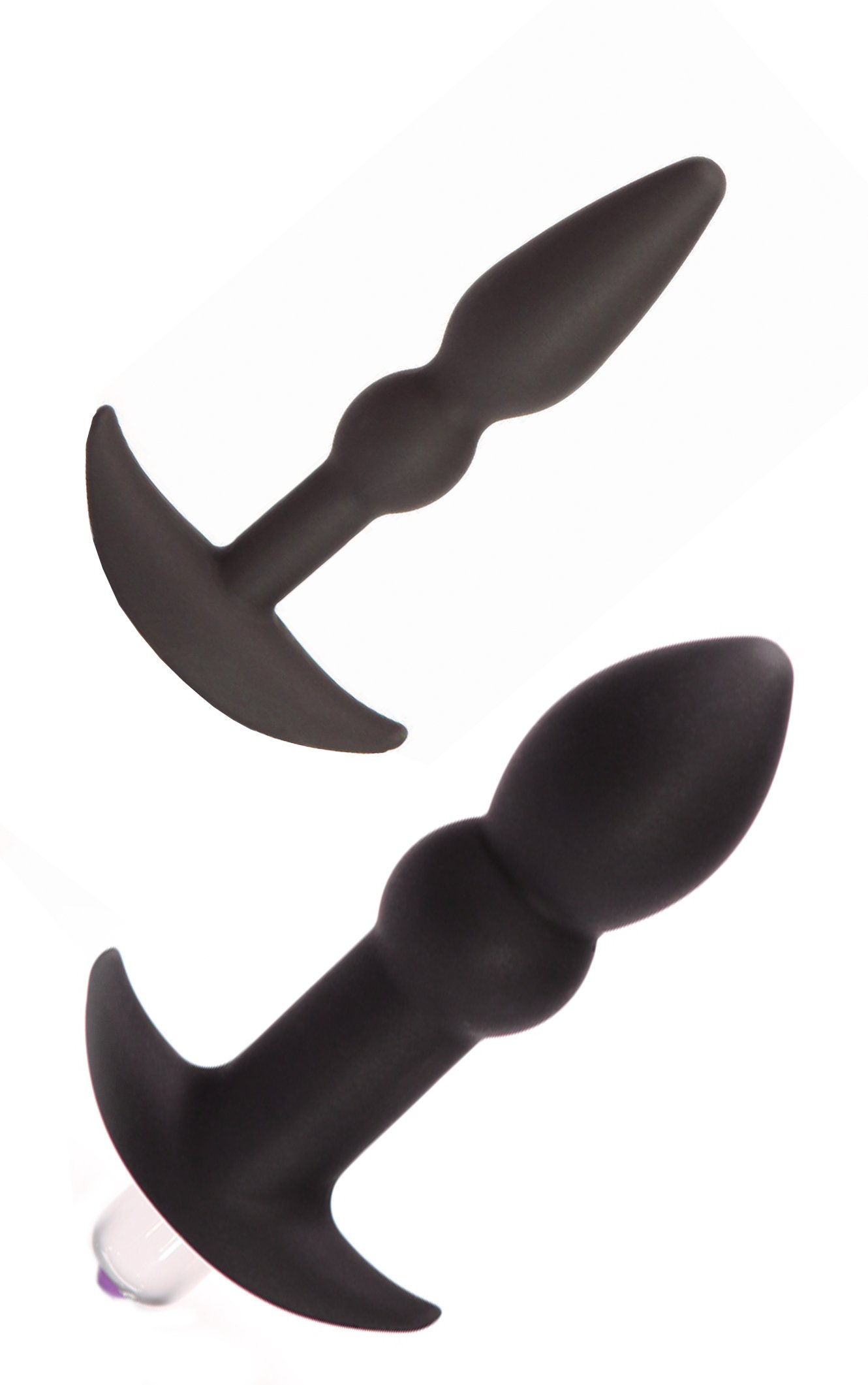 Tantus Perfect Plug Kit - Ultra-Premium Silicone Anal Butt Plugs - Black