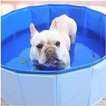 JHLD Plegable Perro Piscina Gato Piscina Port/átiles Ba/ñera Piscina para Ni/ños Peque/ños Infantil Grande Peque/ño Perro Gato Mascota-120/×30CM -Azul 47/×12inch