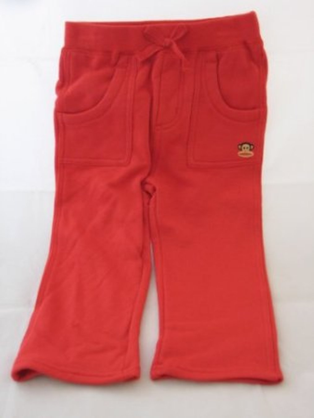 Small Paul Infant Girl Long Pants Red 24 Months