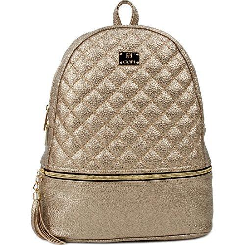 Copi One Backpack Women's Gold Size Black Copi Women's Deep d1zqId