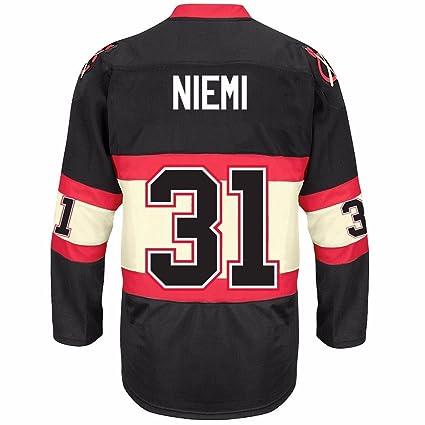 8152238fefd Image Unavailable. Image not available for. Color  Antti Niemi 2016-17  Chicago Blackhawks CCM REEBOK NHL Premier Player Jersey Men s