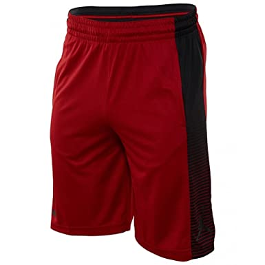 a39a412d969c Jordan Shorts - Game Basketball Red Black Size  XS (X-Small)  Amazon.co.uk   Clothing