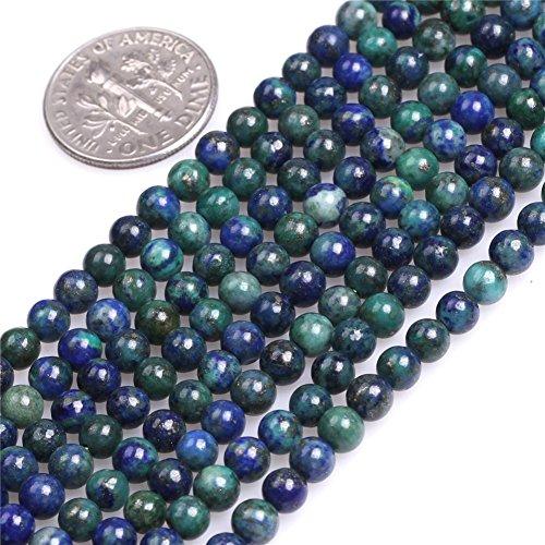 Lapis Lazuli Malachite Beads for Jewelry Making Gemstone Semi Precious 4mm Round 15