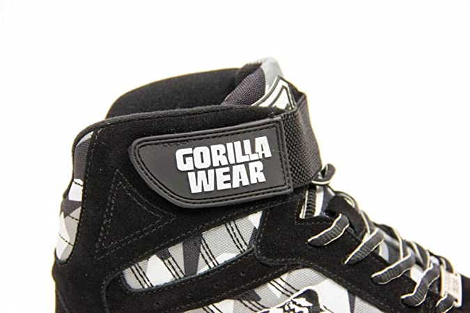 Gorilla Wear Perry High Tops Pro BlackGray Camoschwarz
