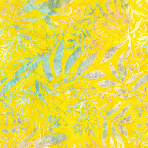 Foliage Batik - Timeless Treasures Fabrics Angelfish Tonga Batiks Halo Foliage