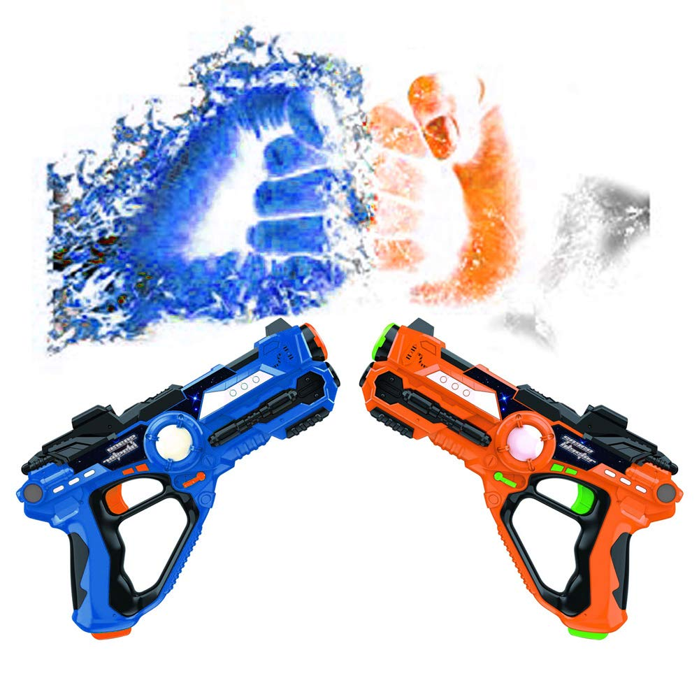 Laser Tag-Laser X Recoil Laser Tag Lasers Gun Toy Gun Set 2-Player Space Blaster Toys for Boy Gift Laser Tag Sets with Gun Games by Toyard (Image #2)