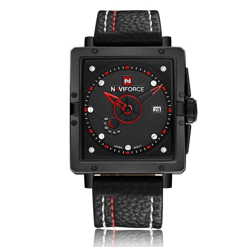 Amazon.com: Relojes de Hombre Watch Men Quartz Watch Eye-catching Fashion Men Watches De Hombre Para Caballero RE0042: Watches