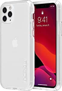 Incipio DualPro Dual Layer Case for Apple iPhone 11 Pro with Flexible Shock-Absorbing Drop-Protection - Clear