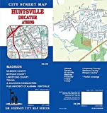 Huntsville / Decatur / Athens, Alabama Street Map