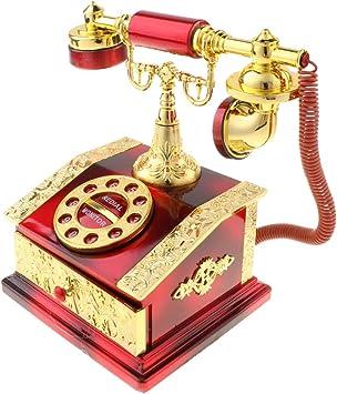 B Blesiya Caja de Música Juego Musical Ornamento de Mesa Juguete Coleccionable para Niños - Rojo: Amazon.es: Juguetes y juegos