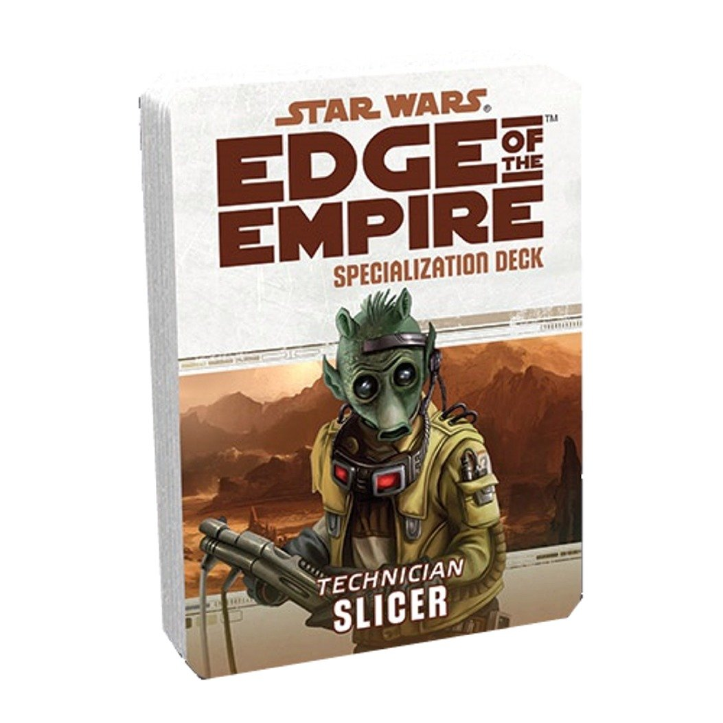 Slicer Star Wars Edge of the Empire Specialization Deck