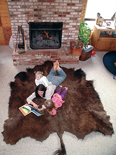 Buffalo Robes, Hides & Rugs: naturally tanned, highest quality. (Buffalo Quality)