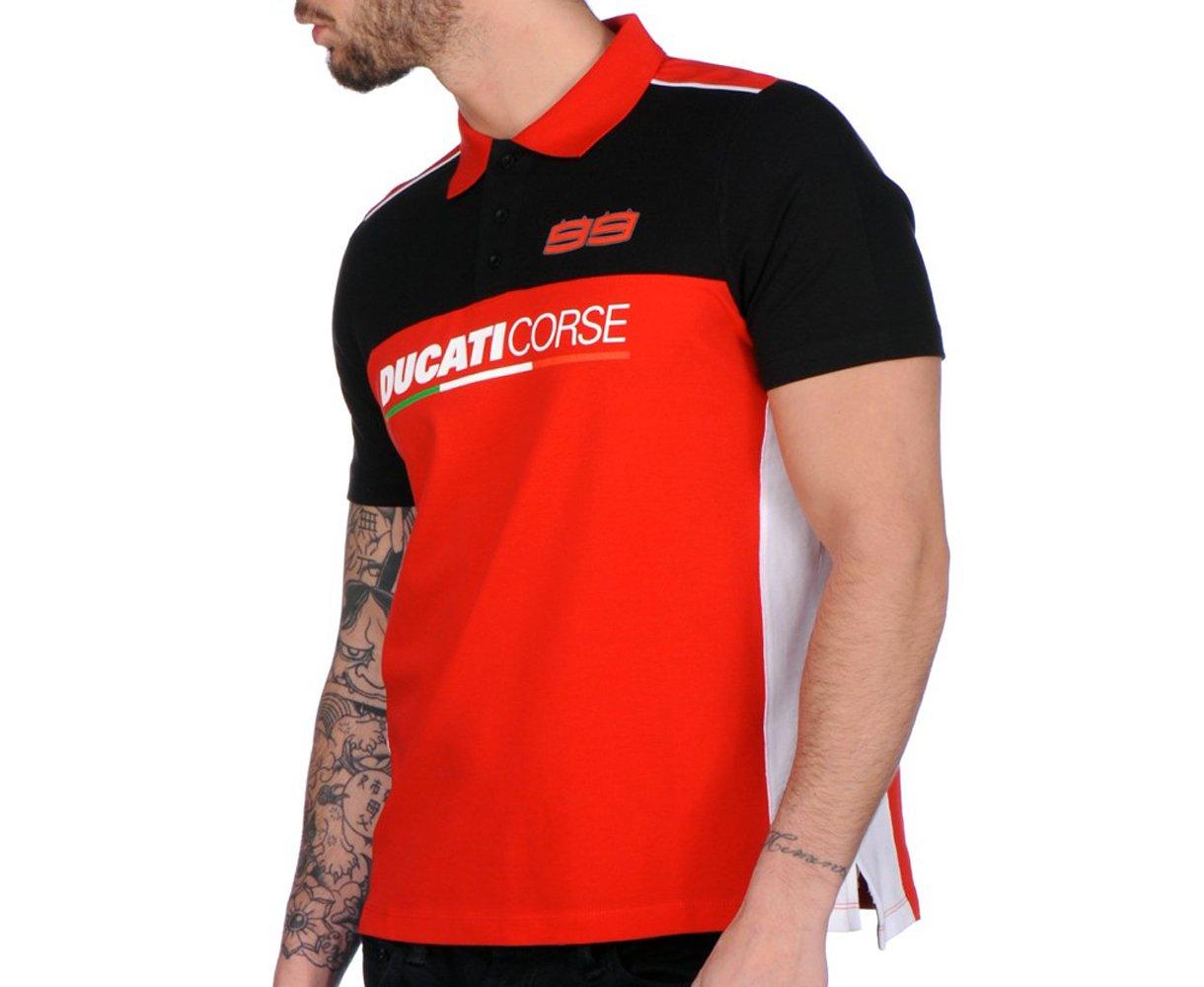Pritelli 1716003 - Polo Ducati Corse Jorge Lorenzo 99, L: Amazon ...