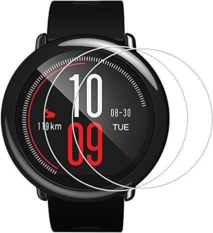 Zshion Screen Protector for AMAZFIT Xiaomi Huami ,Full Coverage 9H ...