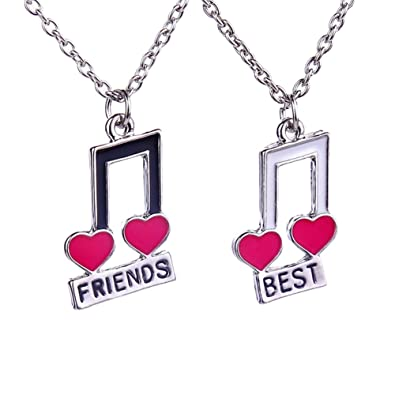 Amazon Music Note Symbol Bff Best Friends Heart Friendship