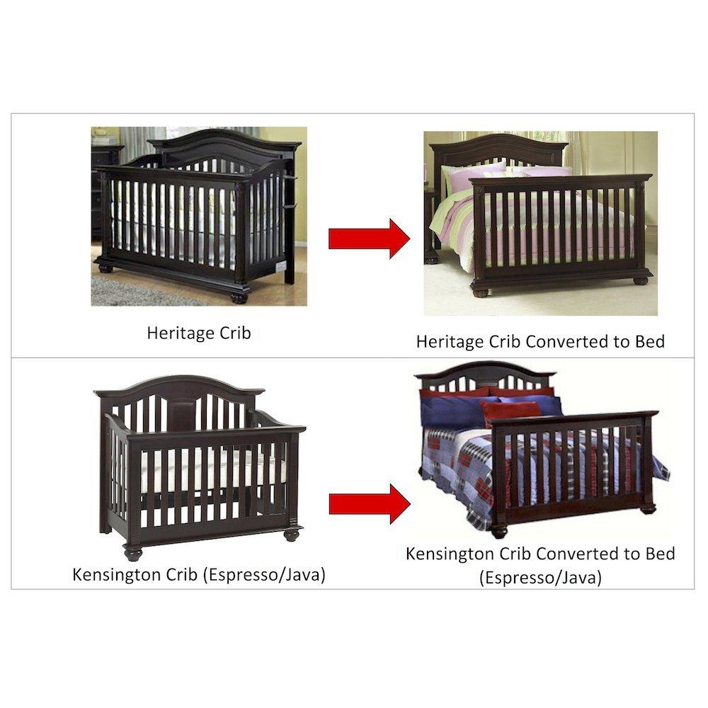 Amazon.com: Tamaño completo Kit de conversión rieles de cama ...