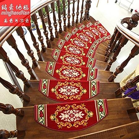 DADAO-Alfombras de escaleras, stepping mats, escalera de mantas, esterillas antideslizantes, hogar, autoadhesivo,24cm* 65cm * 3cm,E: Amazon.es: Hogar