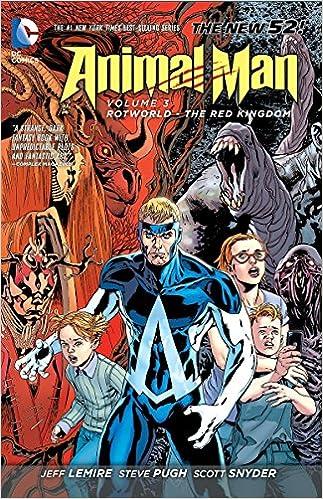DC Universe Justice League ANIMAL MAN Loose