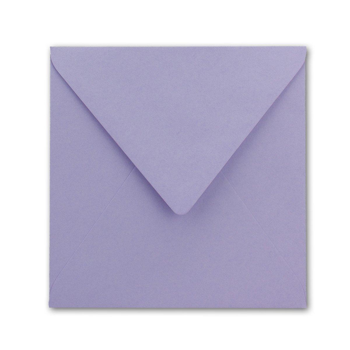 Quadratische Quadratische Quadratische Brief-Umschläge - Farbe Hochweiss   150 Stück   155 x 155 mm   Nassklebung   Für Einladungen & Hochzeit    Serie FarbenFroh® B07D2G7GRR | Bekannt für seine gute Qualität  d10fb7