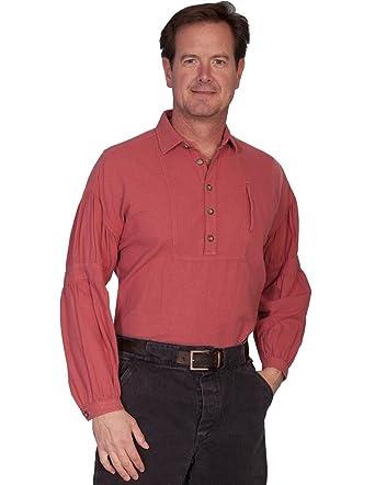 7ff105162c7 Scully RW229X-CAY-3X-B-T Rangewear 100 Percent Cotton Mens Powder River  Shirt - Cayenne