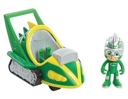 PJ Masks Speed Boosters Vehicles - Gekko, Multicolor